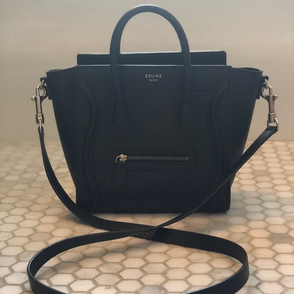 1b45c96a01c Celine Bags   Cline Mini Nano Luggage Handbag   Poshmark